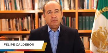 Llama Calderón a votar por oposición para derrotar a Morena