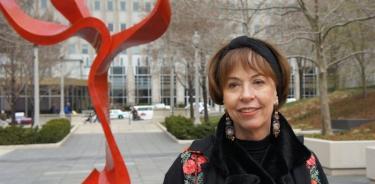 Falleció la escultora Yvonne Domenge a los 73 años