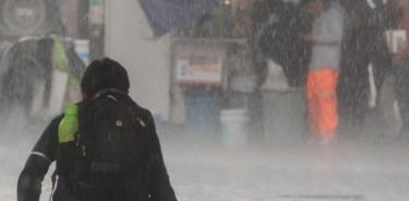 Alerta Amarilla por fortalecimiento de lluvia en siete alcaldías