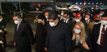 De manera sorpresiva, Nicolás Maduro llega a México para Cumbre de la Celac