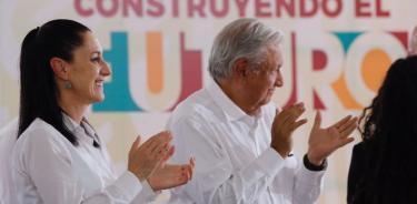Sheinbaum agradece respaldo de AMLO, pero niega inicio de campaña presidencial