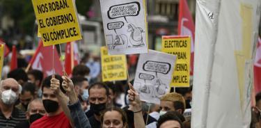 La factura de la luz, una crisis social y política en España