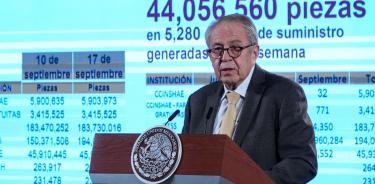 Gobierno de México sí cumple con medicamentos gratuitos: Alcocer