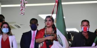 ¡Vivan Sheinbaum y AMLO!, arenga alcaldesa Clara Brugada en Grito de Iztapalapa
