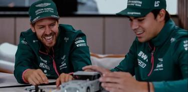 Aston Martin renueva a Lance Stroll y Sebastian Vettel