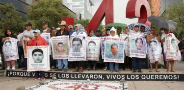CIDH y ONU-DH: La búsqueda de estudiantes de Ayotzinapa debe ser prioritaria