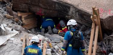 Rescatan cuerpos de Paola y Dilan, sepultados por derrumbe en el Chiquihuite