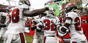 Brady amplía racha ganadora de Bucaneros en exhibición ante Falcons