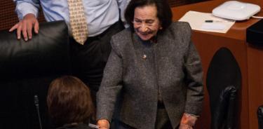 Perfila Senado a Ifigenia Martínez para la medalla Belisario Domínguez en 2021