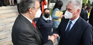 El presidente cubano Miguel Díaz-Canel llega a México; dará discurso en el Zócalo