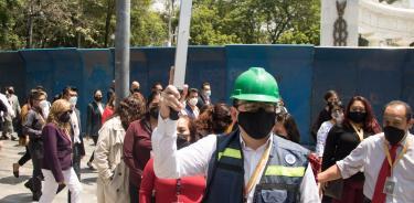 Diputado Fernández Tinoco se pronuncia por más recursos para los atlas de riesgos de la CDMX