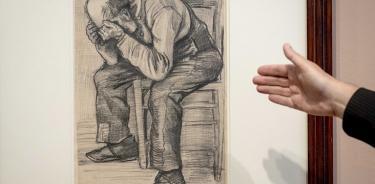 Descubren un dibujo que Vincent van Gogh realizó en 1882