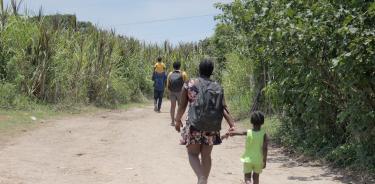 Migrantes buscan nuevas rutas para llegar a Tapachula