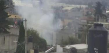 Deja tres lesionados explosión de material pirotécnico en Toluca