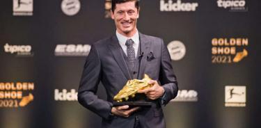 Robert Lewandowski asegura que no compite con Messi y CR7
