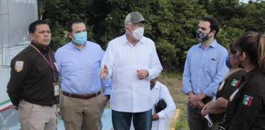 Embajador de EU en México conoce acciones del INM para atender la crisis migratoria