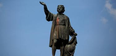 La escultura de Colón  será reubicada en el Parque América, de Polanco