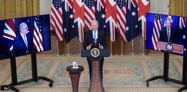China ataca el nuevo pacto militar de EU, Australia y Reino Unido