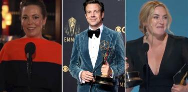 """En los Emmy """"The Crown"""" arrasa; """"Ted Lasso"""" cumple y """"Gambito de Dama"""" sorprende"""