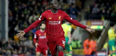 Sadio Mamé llega a 100 goles en victoria del Liverpool