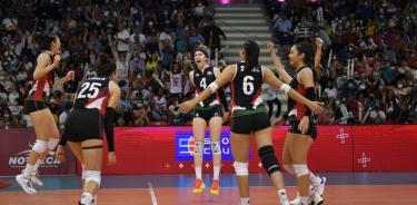 México se queda con presea de plata en Copa Panamericana de Voleibol