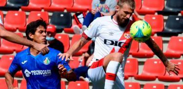 Getafe y José Juan Macías ligan quinta derrota en La Liga