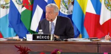 AMLO llama en cumbre de Celac a terminar bloqueos y firmar acuerdo con EU y Canadá