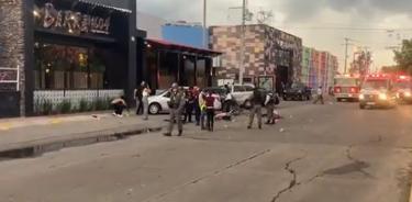 Ataque narcoterrorista en Salamanca, Gto