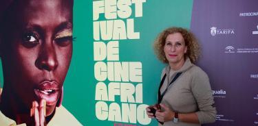 La directora del Festival de Cine Africano de Tarifa-Tánger (FCAT), Mané Cisneros.(EFE)
