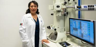 La doctora Julieta Torres realizó su doctorado en Saint Etienne, Francia, como había soñado desde la adolescencia.