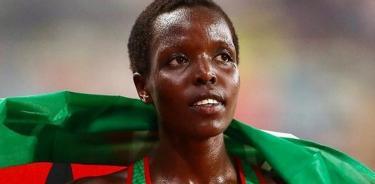 Agnes Jebet Tirop, atleta keniana (Foto Instagram worldathletics)