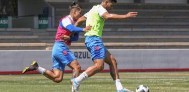 Los Campeones del futbol mexicano  se preparan en La Noria para enfrentar su siguiente compromiso