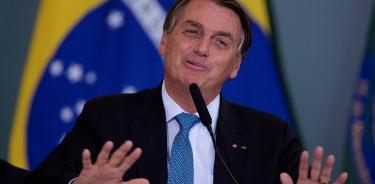 Bolsonaro, en una imagen de archivo (EFE / Joédson Alves).