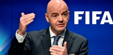 IInfantino, presidente de la FIFA