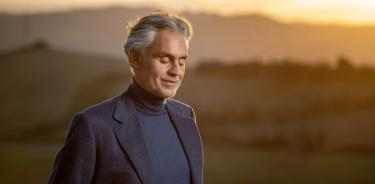 Andrea Bocelli. Foto: Especial