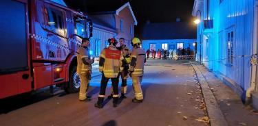 El ataque ocurrió en la ciudad de Kogsberg (Twitter)