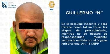 Detienen a Guillermo