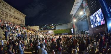 El concierto en la Alhóndiga de Granaditas.